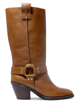 Leather Boots by See By Chloé