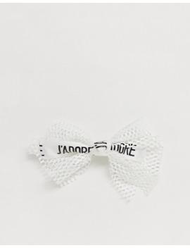 Asos Design – Haarspange Mit Schleifendesign Aus Netzstoff by Asos