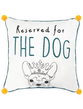 Pet Cushion   Reserved For The French Bulldog by B&M