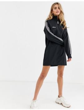 Ellesse High Neck Track Dress With Reflective Panels by Ellesse