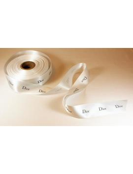 """Authentic Dior Wide Ribbon 3.8 Cm   1.49 \""""   Very Good Quality   Sold By The Meter by Etsy"""