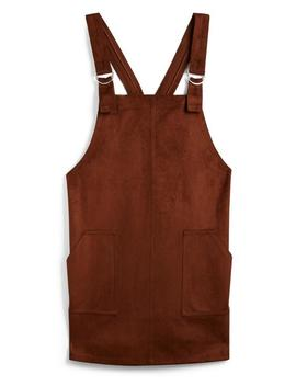 Burgundy Pinafore by Primark