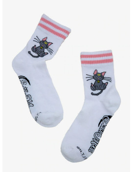 Sailor Moon Diana Pink Stripe Ankle Socks by Hot Topic