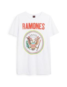 Ramones T Shirt by Primark