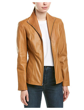 Cole Haan Leather Jacket by Cole Haan