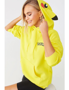 Pokemon Pikachu Hoodie by Forever 21