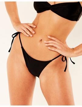 Tie Side Bikini Bottom by Glassons