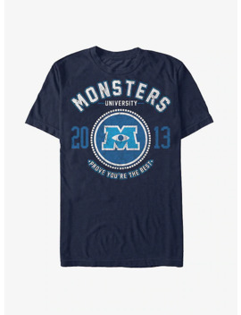 Monsters Inc. Best College Logo T Shirt by Hot Topic