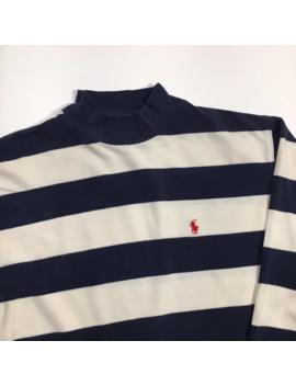 90's Striped Polo Ralph Lauren Long Sleeve Shirt by Polo Ralph Lauren  ×  Vintage  ×  Streetwear  ×