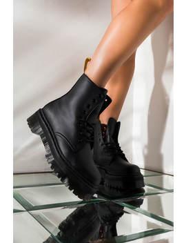 Dr. Martens Vegan Jadon Ii Mono Platform Boot In Black by Akira