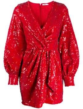 Sequinned Mini Dress by Amen