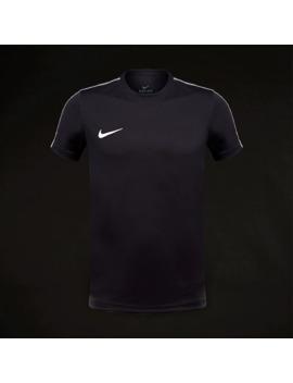 Top Junior Manica Corta Nike Park 18 Training   Nero/Bianco by Pro Direct Soccer