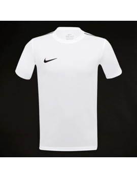 Top Junior Manica Corta Nike Park 18 Training   Bianco/Nero by Pro Direct Soccer
