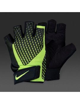 Guanti Uomo Nike Core Lock Training 2.0   Nero/Volt by Pro Direct Soccer