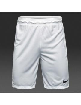 Short Nike Park Ii Knit   Bianco/Nero by Pro Direct Soccer