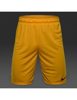 Short Nike Park Ii Knit   Oro Università/Nero by Pro Direct Soccer