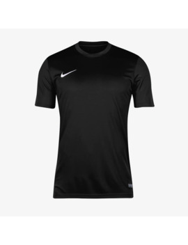 Maglia Mc Nike Park Vi   Nero/Bianco by Pro Direct Soccer