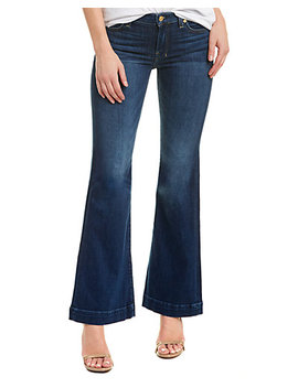 7 For All Mankind Tailorless Dojo Medium Wash Bell Bottom  by Seven For All Mankind