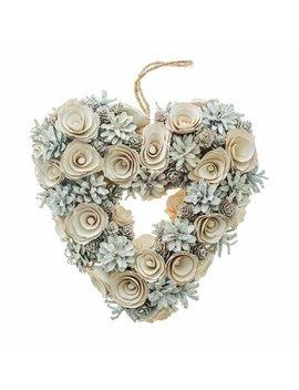 Heart 26cm Wreath by The Seasonal Aisle