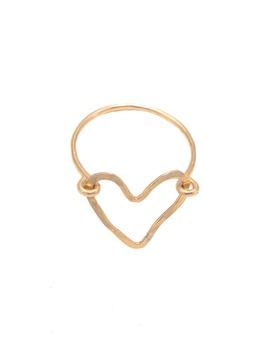 Lucy Open Heart Ring by Teressa Lane Jewelry
