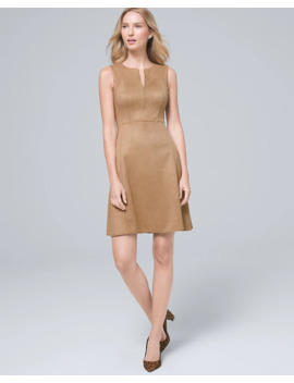 Ultra Suede Shift Dress by Whbm