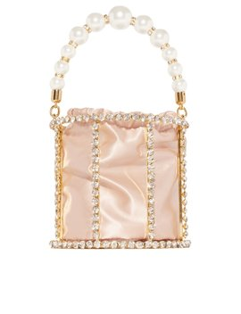 A Luxe Affair Bag   Champagne by Miss Lola