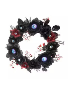 Gallerie Ii Led Gothic Eyeball Halloween Wreath by Bed Bath And Beyond