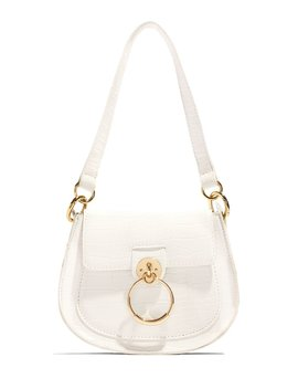 Stand Out In Fashion Bag   White by Miss Lola