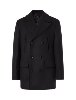 Edward Wool And Cashmere Blend Peacoat by Mr Porter