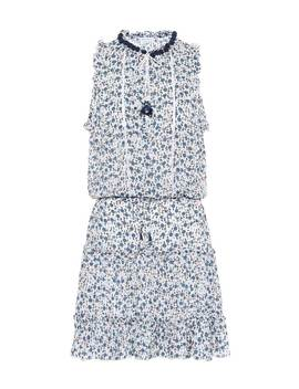 Clara Ruffled Floral Dress by Poupette St Barth