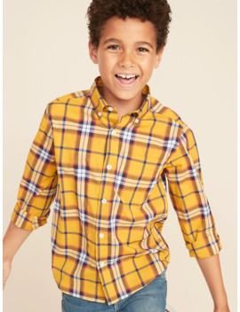 Patterned Built In Flex Classic Shirt For Boys by Old Navy