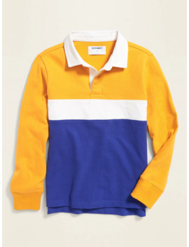 Color Blocked Rugby For Boys by Old Navy