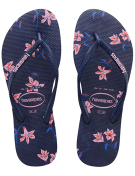 Slim Floral Prints Thongs by Havaianas