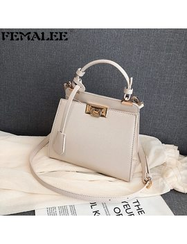 Luxury Shoulder Bag Women Elegant Bags Ladies Leather Pu Quilted Lock Cross Body Bag Female Handbags Designer Sac A Main Femme by Ali Express.Com