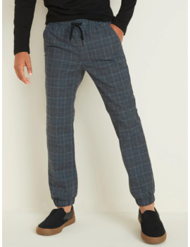 Built In Flex Glen Plaid Joggers For Boys by Old Navy
