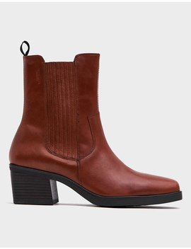 Simone Pullon Boot In Cinnamon by Vagabond Shoemakers Vagabond Shoemakers