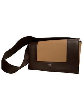 Frame Leather Handbag by Céline