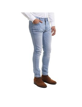 Johnny Stretch Jeans Skinny Fit   Light Wash by Peter Manning