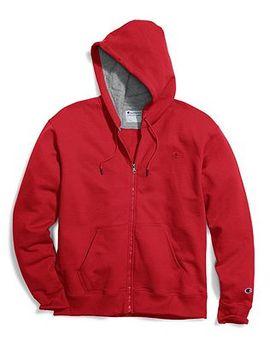 Champion Men's Powerblend® Fleece Full Zip Hoodie by Champion