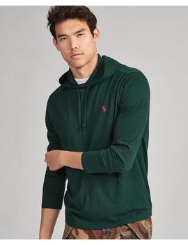 T Shirt à Capuche Jersey De Coton by Ralph Lauren