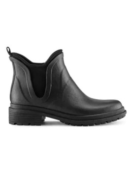 Drew Insulated Waterproof Rubber Chelsea Boots by Cougar