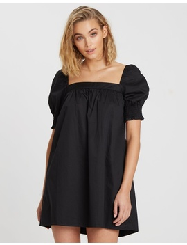 Lucille Square Neck Mini Dress by The Fated