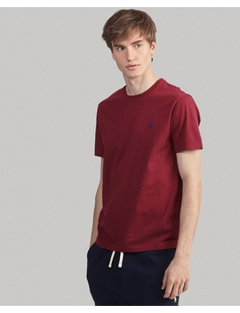 T Shirt Ultra Cintré En Coton by Ralph Lauren