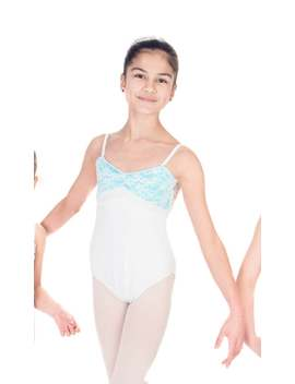 "Ballet Leotard    ""Juliette"" Leotard With Velvet And Lace    Spaghetti Straps  Custom Designed Dance Wear by Etsy"
