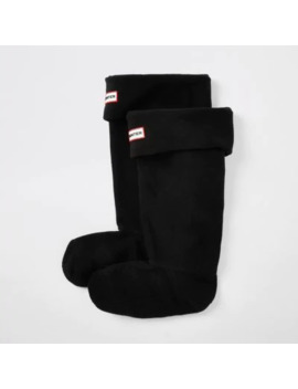 Hunter Original Black Boot Socks by River Island