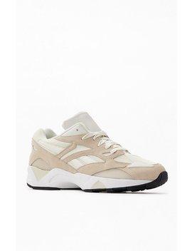 Reebok White Aztrek 96 Shoes by Pacsun