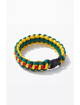 Rothco Yellow & Green Paracord Bracelet by Pacsun