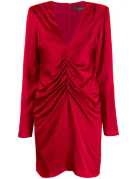 Draped Mini Dress by Federica Tosi
