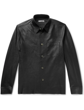 Leather Shirt by Our Legacy