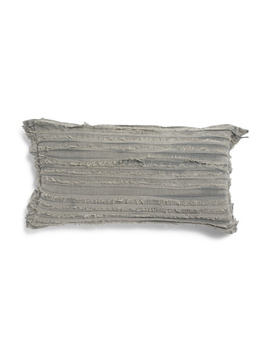 14x26 Frayed Edges Pillow by Tj Maxx